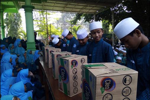 Pesta Demokrasi Pemmilihan Ketua OSIS