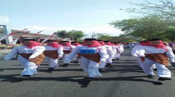 Lomba Gerak Jalan HUT RI ke 74 se-Kecamatan Beji