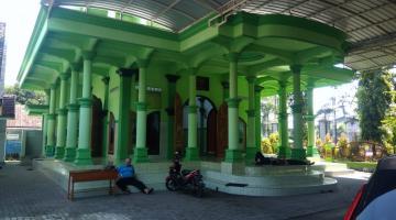 Masjid Laa Tansa SMPN 1 Beji