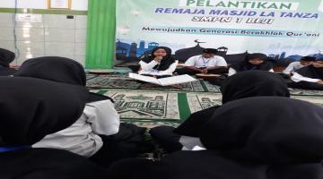 Kegiatan Pelantikan Remaja Masjid